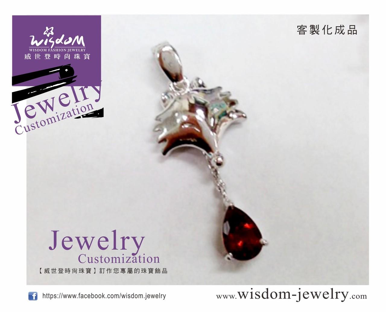 【威世登時尚珠寶-三多門市】依樣打造的狐狸白金墜、讓特殊記念永遠陪伴-完成品