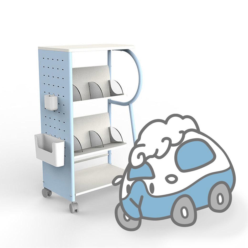 Rolling Go 遊走書櫃收納車車