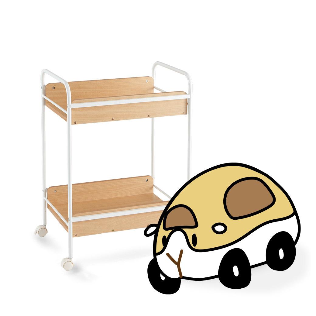 木質收納車車